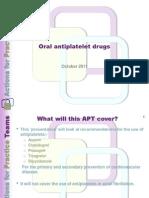APT 20b - Antiplatelets