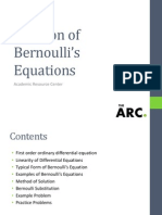 Bernoulli solution