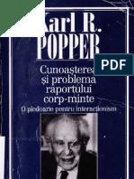 Karl R. Popper - Cunoasterea Si Problema Raportului Corp-minte