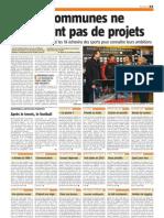 Nouvelle Gazette - Nos 18 Communes Ne Manquent Pas de Projets - 08.02.13