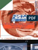 27th IRU World Congress - Brussels Highlights, 2000