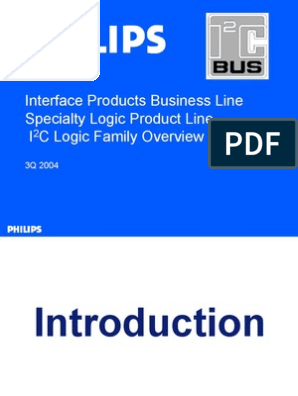 I2C COMMUNICATION pdf   Microcontroller   Telecommunications