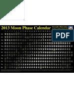 2013 Moon Phase Calendar