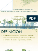 Fundaciones Indirectas o Por Pilotes Hormigonados in Situ - Visualbee