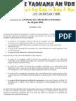 Synthese de La Reforme Des Collectivites Territoriales J