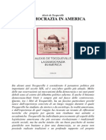 Alexis de Tocqueville La Democrazia in America