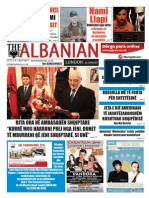 """The Albanian in London """"Happy independence Day Kosovo"""" 8th of Feb 2013"""