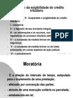 70_7 - Aula s SUSPENSÃO DO CRÉDITO TRIBUTÁRIO