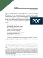 Hendricks Article--New Philosophy July-December 2009