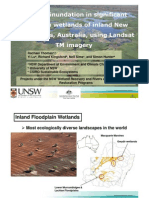 Rachael Thomas - Mapping inundation in floodplain wetlands in New South Wales, Australia, using Landsat TM imagery