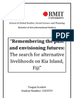 Community Centred Conservation (C3) - Kia Island Alternative Livelihoods Feasibility Report