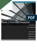 Portfolio Week 3 Analysis