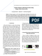 A Study on Robot Motion Authoring System using