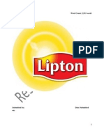 Assignmeliptopnt of Lipton