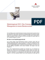 Artikel Marketingtrend2013Marketingtrend 2013