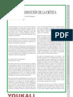García del Campo, J. Sobre la producción de la crítica.