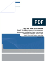 Groundwater and Surface Water Interactions Fractur 0