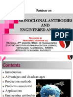 Monoclonal antibodies and engineered antibodies