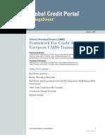 S&P CMBS Framework