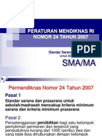 7.PERMEN++NO.24 2007+Standar+Sarana+Prasarana