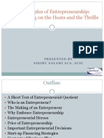 Principles of Entrepreneurship