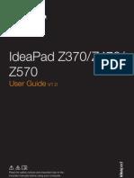 Lenovo z570 User Guide
