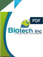 Brochure Biotech Inc 1