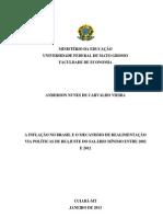 Monografia de Anderson Nunes de Carvalho Vieira