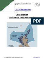 SSACN Marine Bill Response