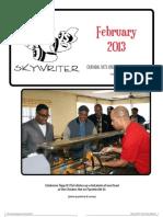 Durham Skywriter—February 2013