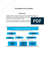 Derecho Laboral en El Ecuador