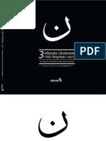 3. Albaraka Uluslararası Hat Yarışması  3rd Albaraka International Calligraphy Competition