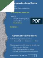 Cons Laws Unit Review