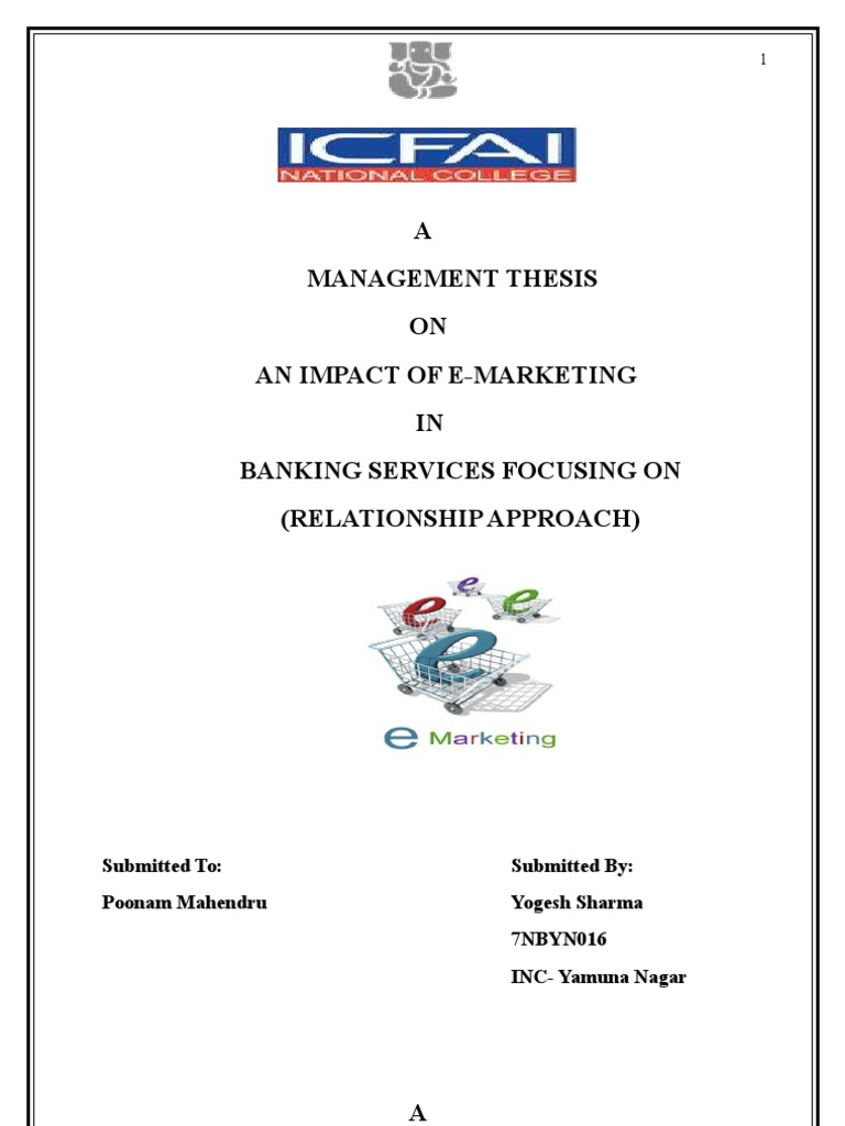 Thesis on b b ecommerce