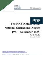NKVD Mass Secret Operations