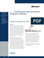 Gartner-Microsoft Joint Newsletter - Implementing Your Next-Generation Integration Platform