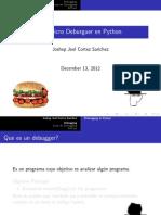 Deburgger in Python