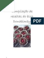 compilação de receitas do blog donabimby