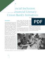 Financial Inclusion - Union Bank Initiative