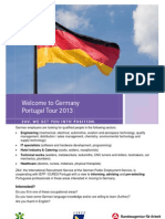 Welcome Germany - Tour Flyer