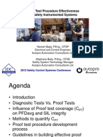 IDC Conference 2012 - Proof Test Procedure Effectiveness on Safety Instrumented Systems