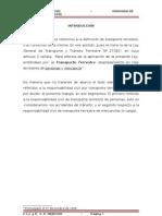 RESPONSABILIDAD CIVIL EN TRANSPORTE TERRESTRE (PERÙ)