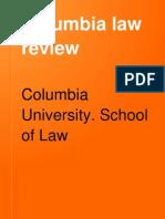 Columbia-Cestui Que _Common Law