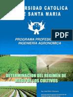 Metodos Para Determinar La Evapotranspiracion Potencial - Ing. Jose Pinto