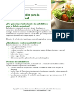 Gestational Diabetes Spanish