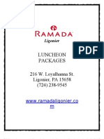 Luncheon Packages
