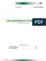 1GM Cours Operations Usinage