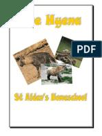 Hyena Mini Workbook, Donnette Davis, St Aiden's Homeschool