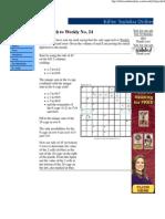 Killer Sudoku Weekly 24 Tips and Strategies