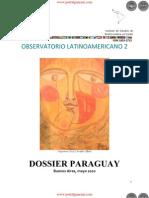 LORENA SOLER - OBSERVATORIO LATINOAMERICANO 2  - DOSSIER PARAGUAY - BUENOS AIRES - MAYO 2010 - PORTALGUARANI